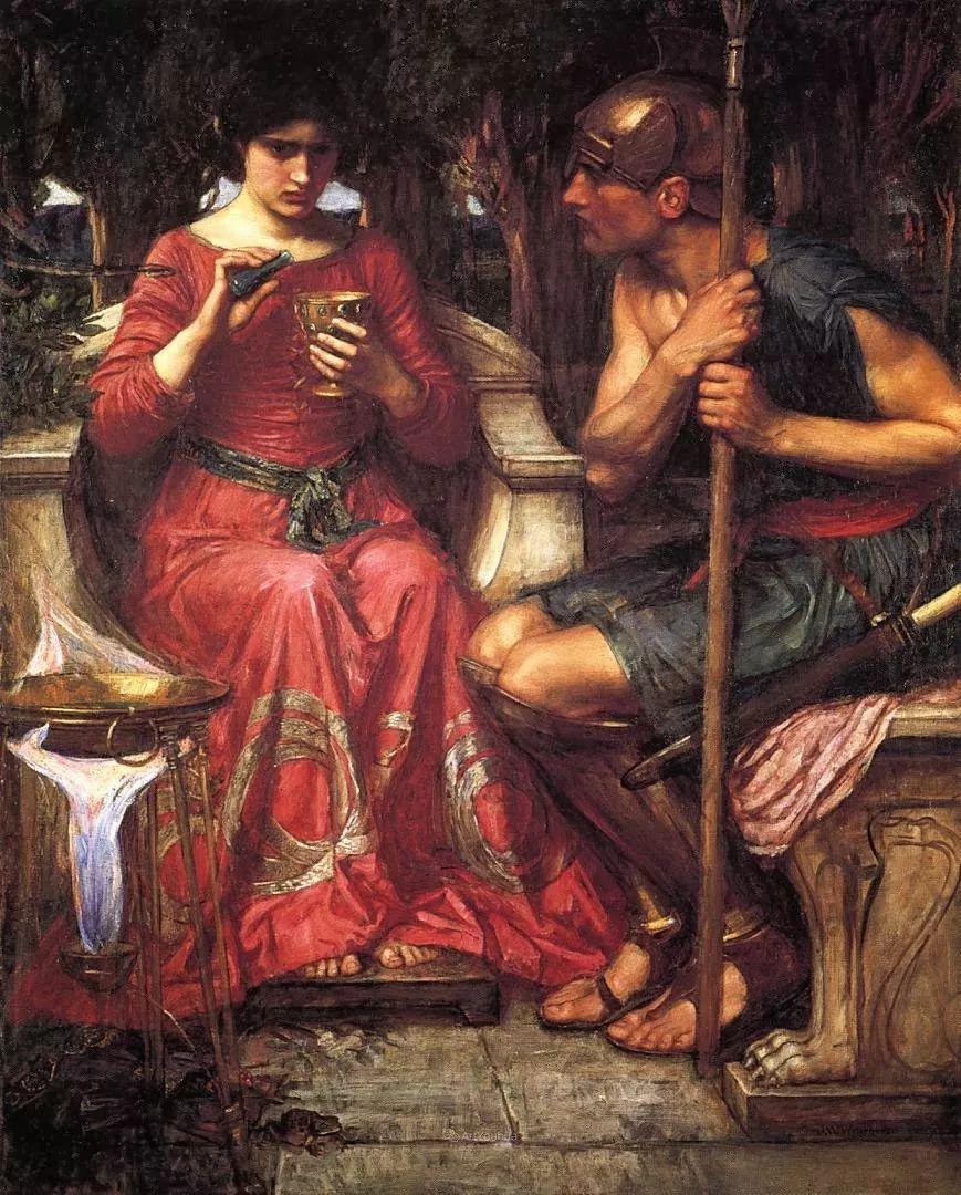 美若天仙的唯美诗性 ,英国皇家美术学院院士约翰·威廉姆·沃特豪斯插图48