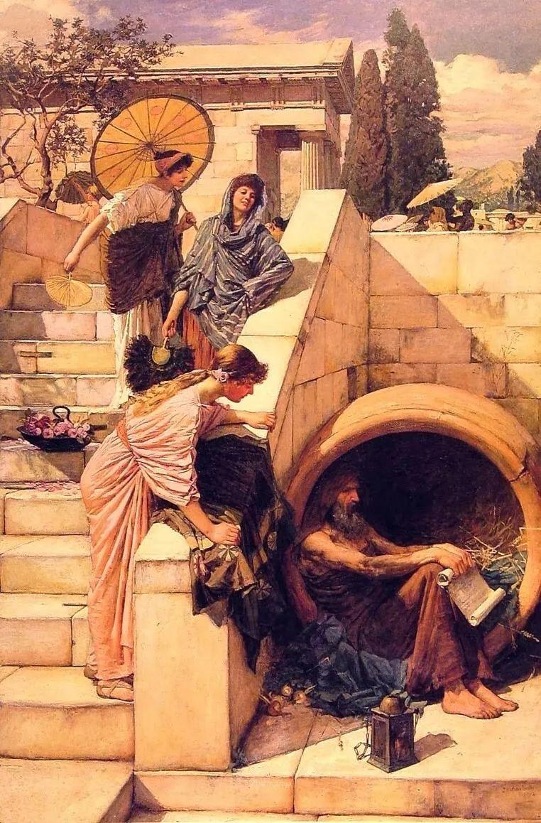 美若天仙的唯美诗性 ,英国皇家美术学院院士约翰·威廉姆·沃特豪斯插图50