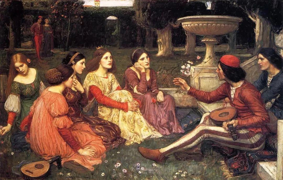 美若天仙的唯美诗性 ,英国皇家美术学院院士约翰·威廉姆·沃特豪斯插图56