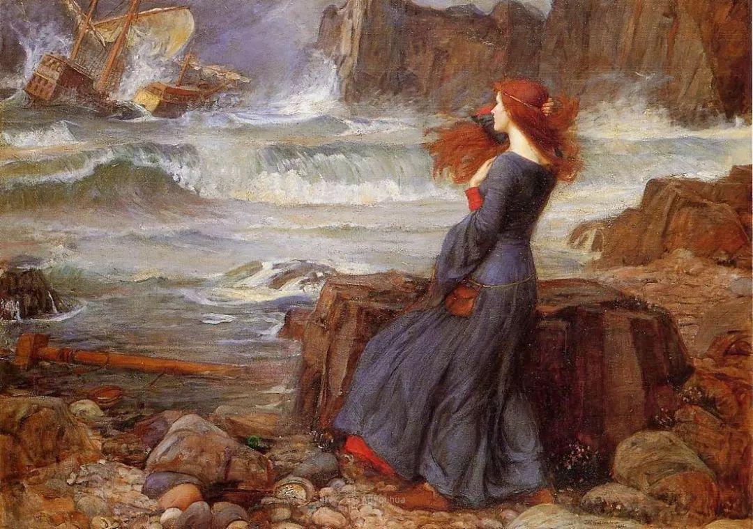 美若天仙的唯美诗性 ,英国皇家美术学院院士约翰·威廉姆·沃特豪斯插图57