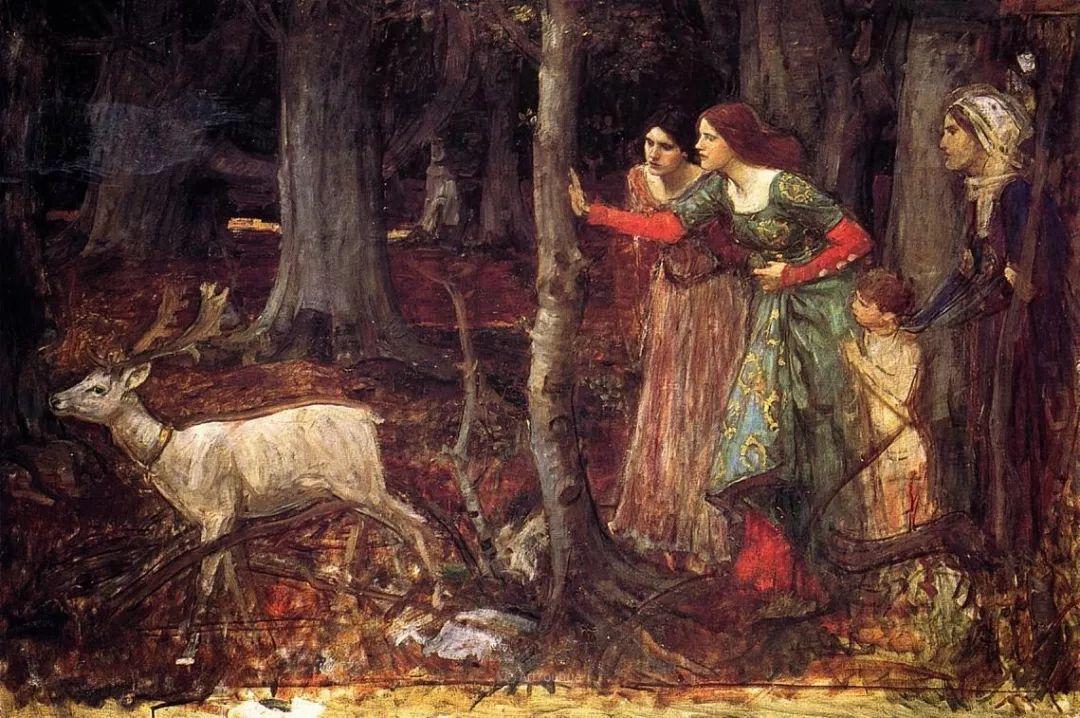 美若天仙的唯美诗性 ,英国皇家美术学院院士约翰·威廉姆·沃特豪斯插图61