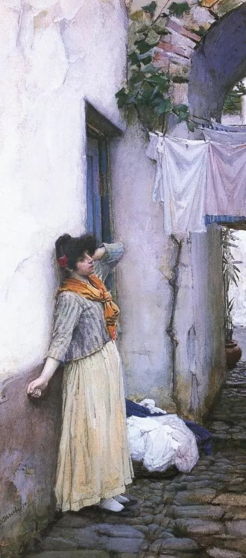 美若天仙的唯美诗性 ,英国皇家美术学院院士约翰·威廉姆·沃特豪斯插图67