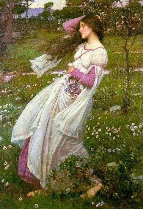 美若天仙的唯美诗性 ,英国皇家美术学院院士约翰·威廉姆·沃特豪斯插图72
