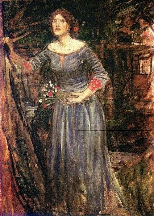 美若天仙的唯美诗性 ,英国皇家美术学院院士约翰·威廉姆·沃特豪斯插图73