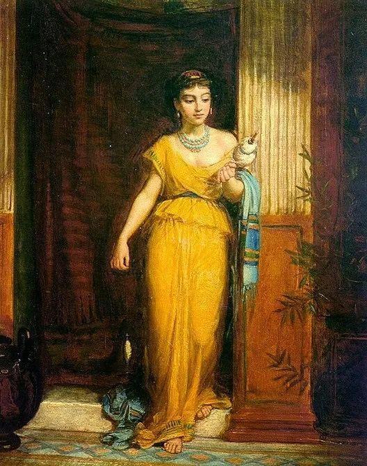 美若天仙的唯美诗性 ,英国皇家美术学院院士约翰·威廉姆·沃特豪斯插图76