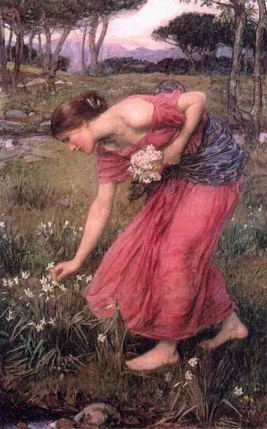 美若天仙的唯美诗性 ,英国皇家美术学院院士约翰·威廉姆·沃特豪斯插图78