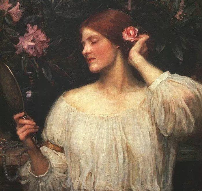 美若天仙的唯美诗性 ,英国皇家美术学院院士约翰·威廉姆·沃特豪斯插图86