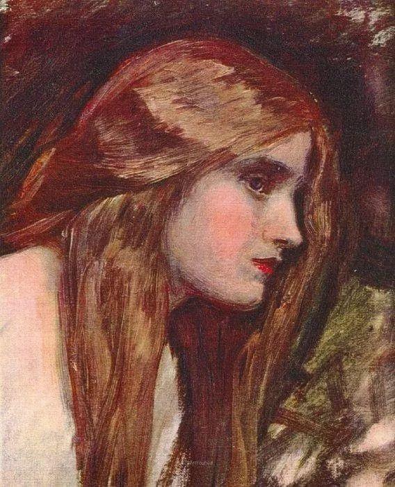 美若天仙的唯美诗性 ,英国皇家美术学院院士约翰·威廉姆·沃特豪斯插图88