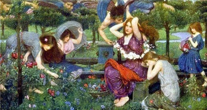 美若天仙的唯美诗性 ,英国皇家美术学院院士约翰·威廉姆·沃特豪斯插图90