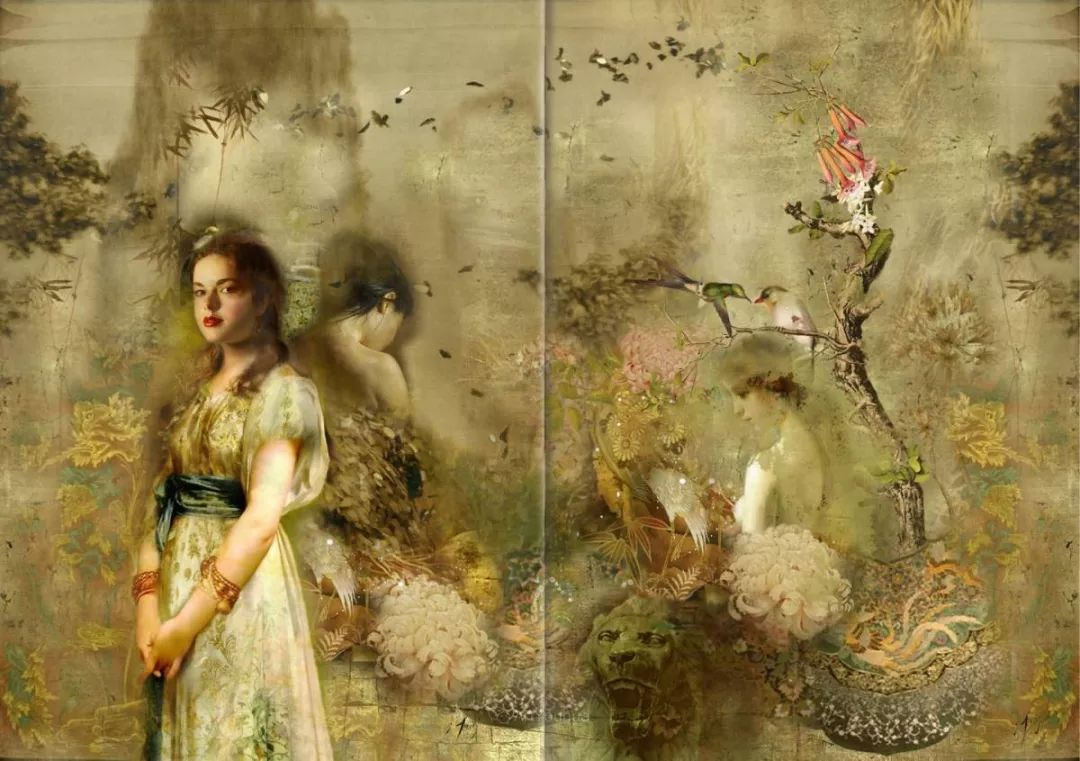 传统绘画与后现代元素的结合,英国画家伊娃·特洛伊插图6