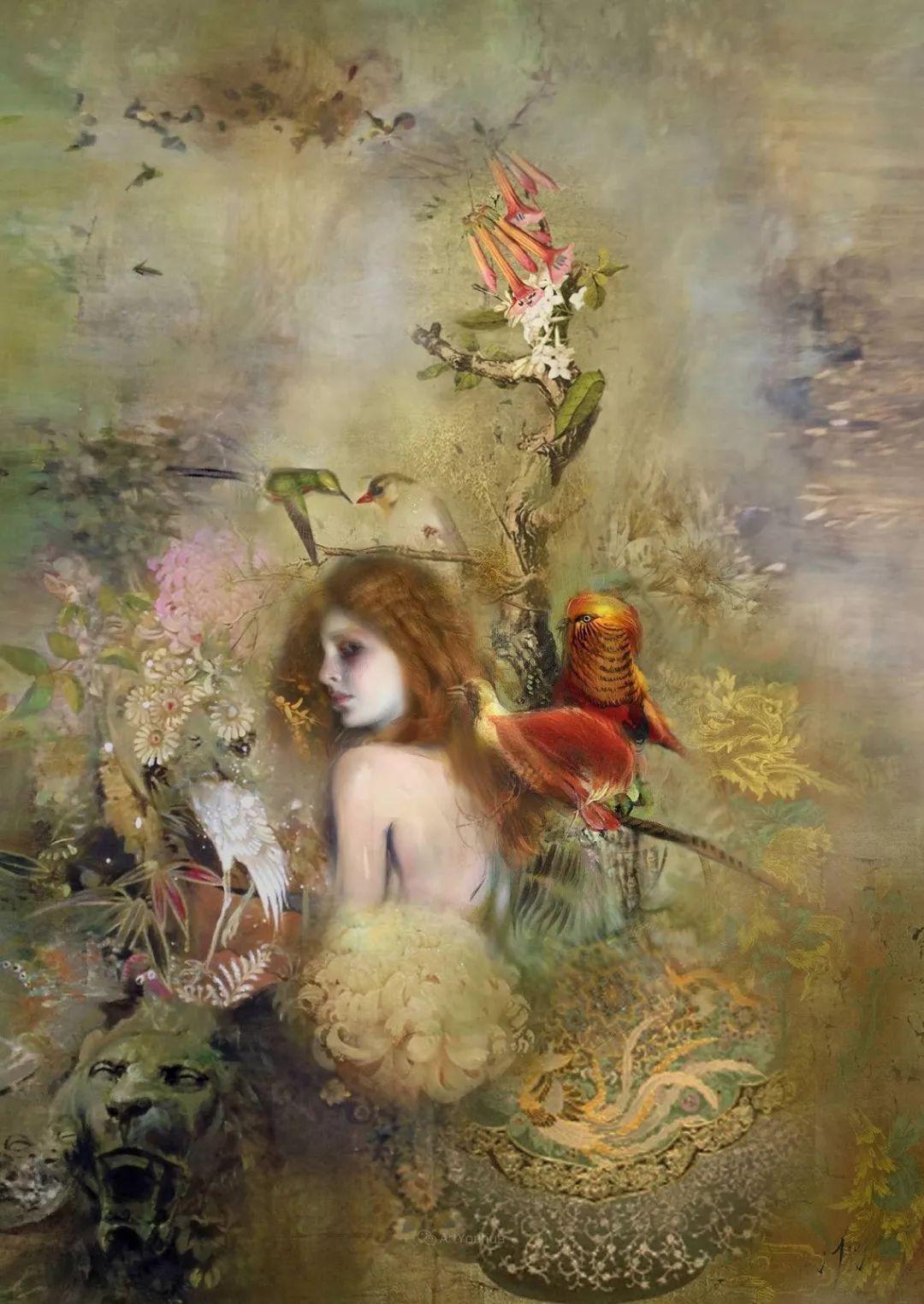 传统绘画与后现代元素的结合,英国画家伊娃·特洛伊插图10