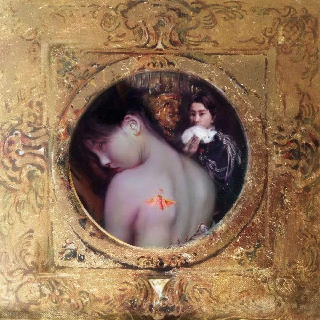 传统绘画与后现代元素的结合,英国画家伊娃·特洛伊插图16