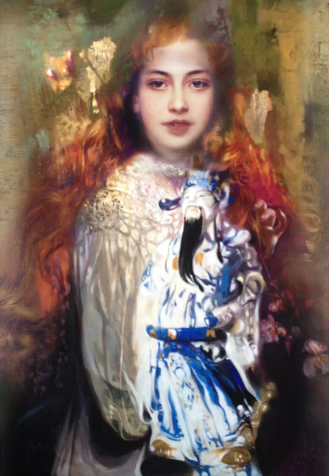 传统绘画与后现代元素的结合,英国画家伊娃·特洛伊插图29