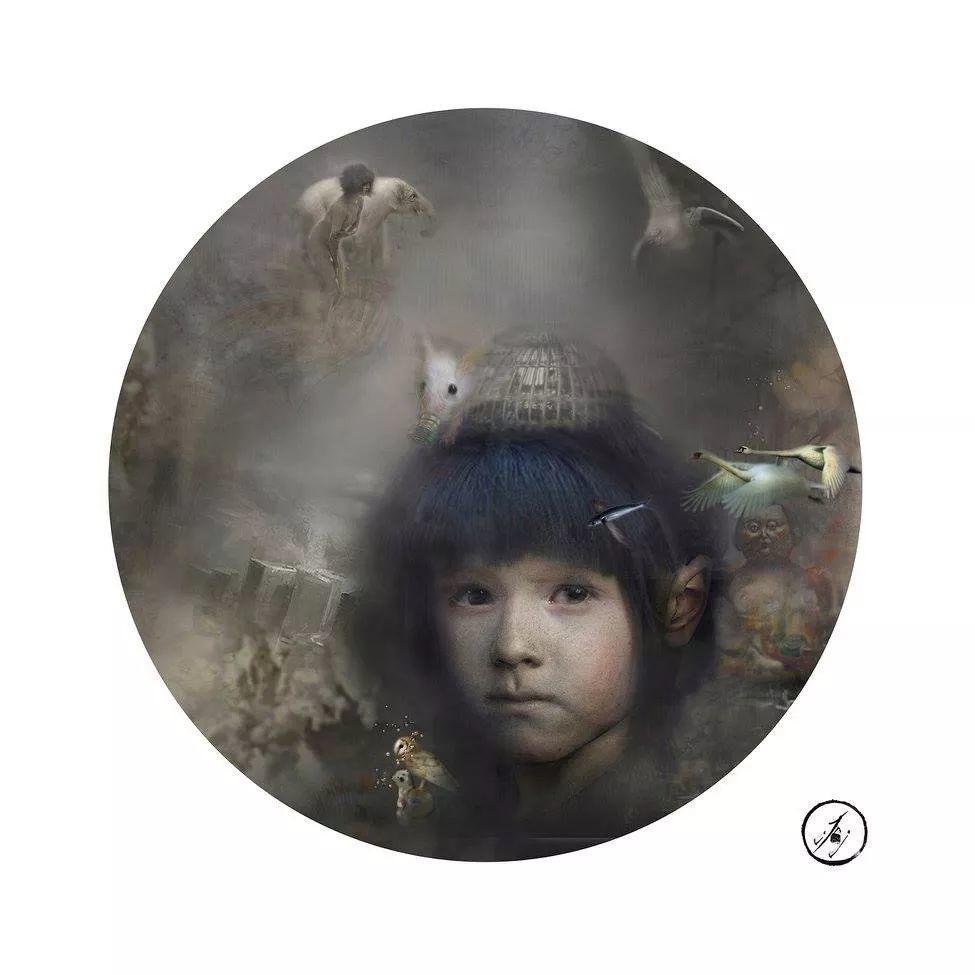 传统绘画与后现代元素的结合,英国画家伊娃·特洛伊插图33