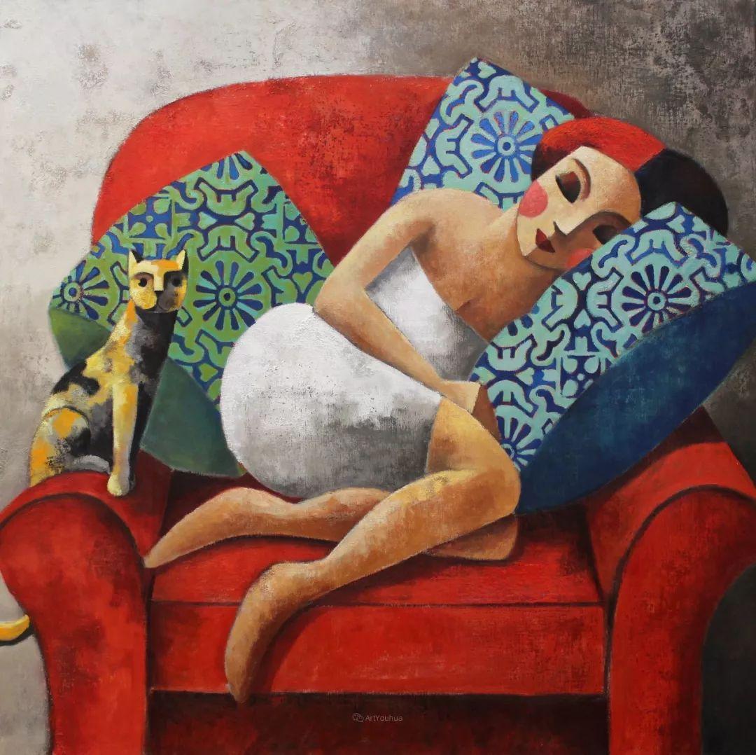 情感的表达,西班牙画家Didier Lourenço插图