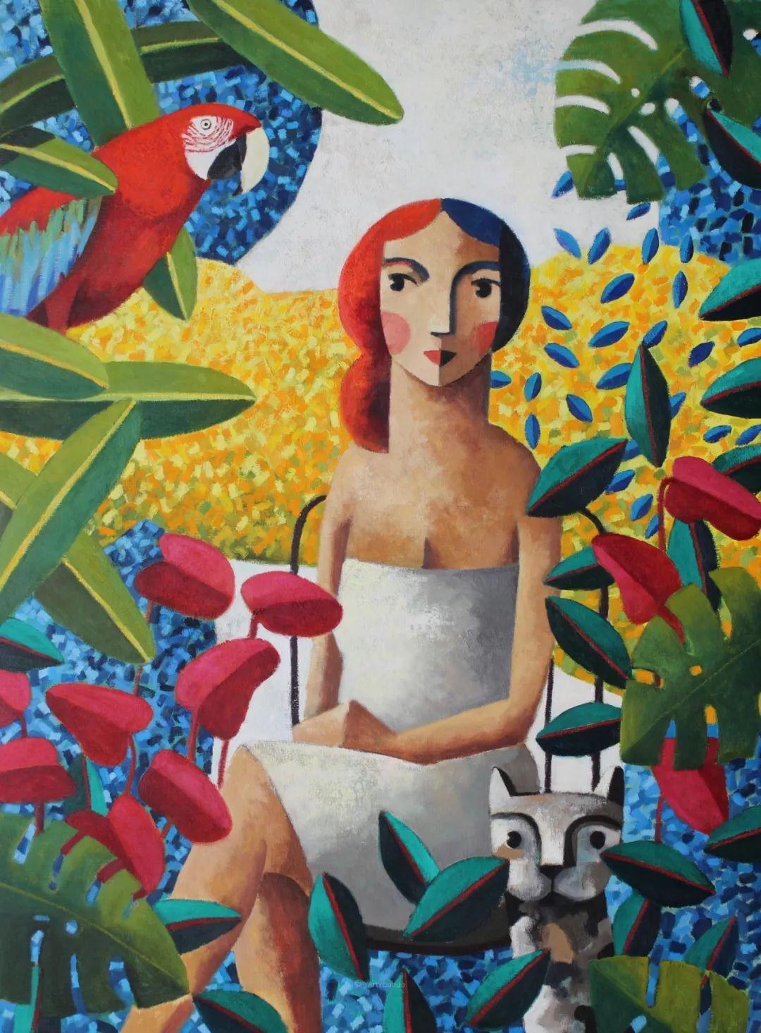 情感的表达,西班牙画家Didier Lourenço插图1