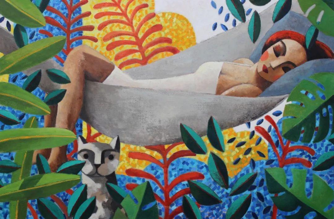 情感的表达,西班牙画家Didier Lourenço插图2