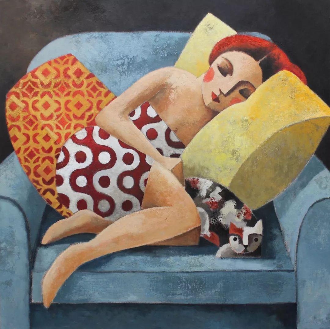 情感的表达,西班牙画家Didier Lourenço插图16