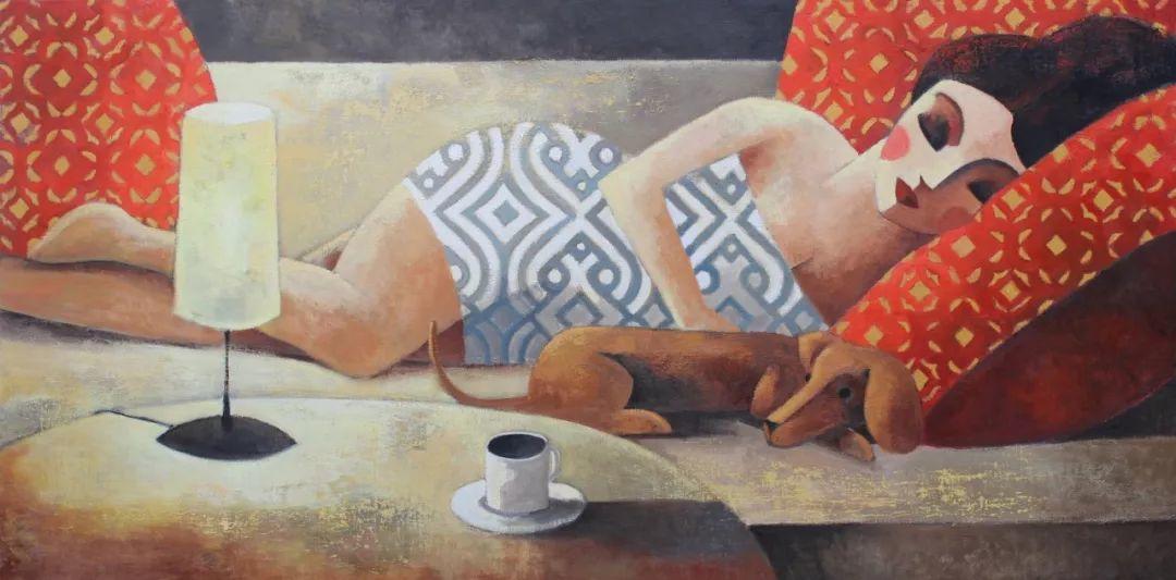 情感的表达,西班牙画家Didier Lourenço插图19