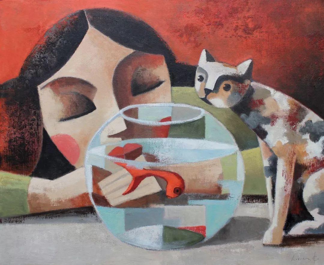 情感的表达,西班牙画家Didier Lourenço插图25