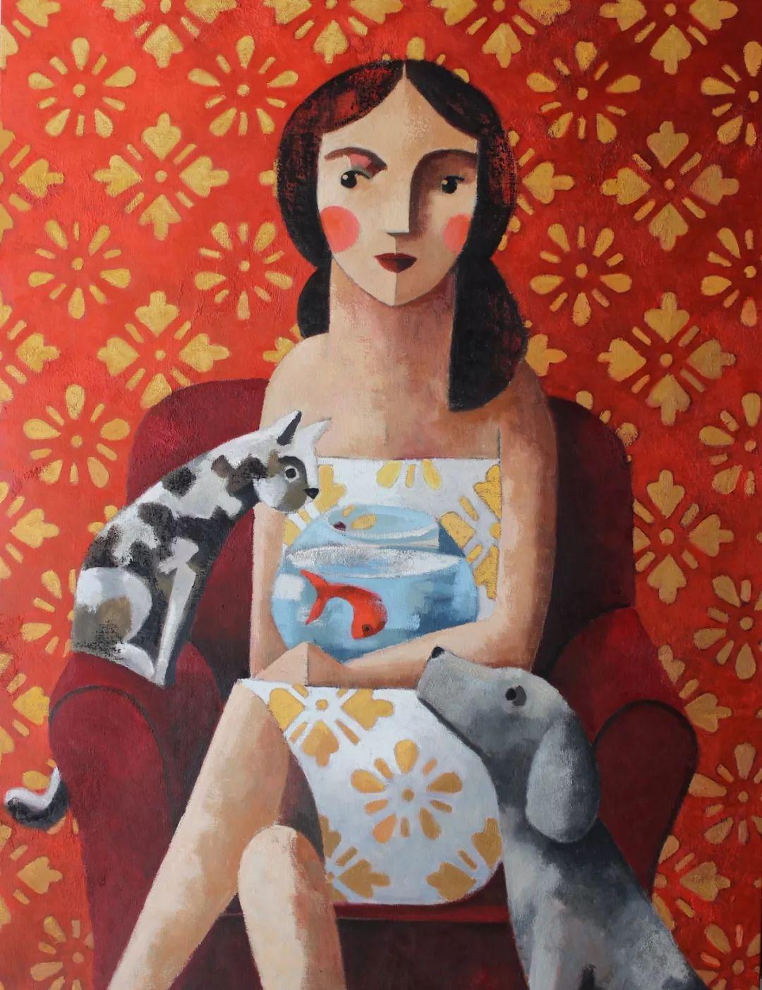 情感的表达,西班牙画家Didier Lourenço插图31