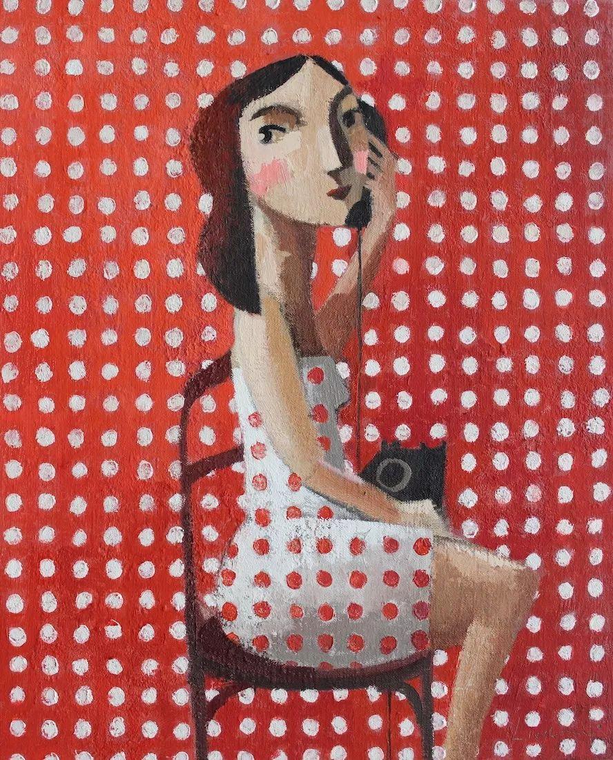 情感的表达,西班牙画家Didier Lourenço插图35