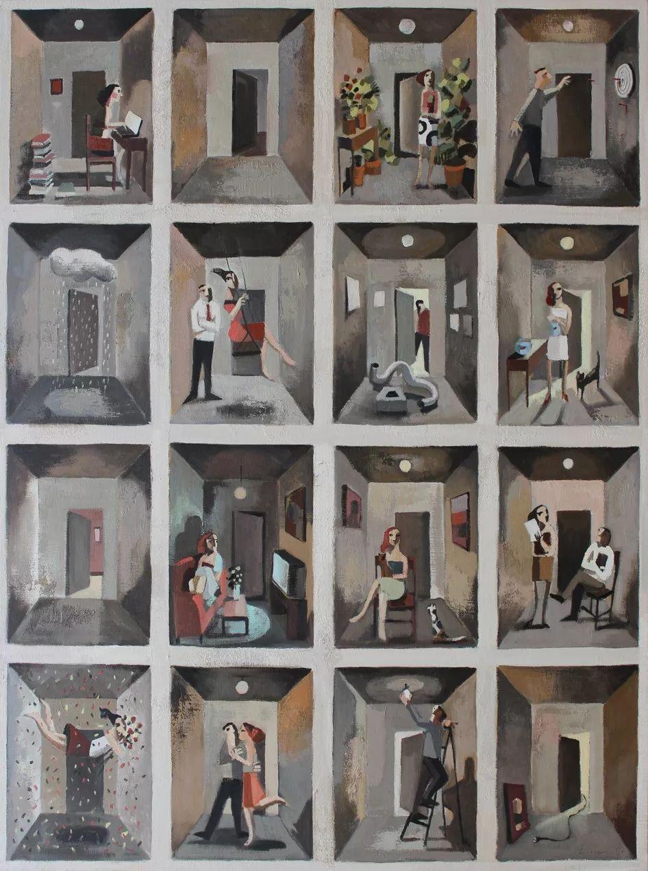 情感的表达,西班牙画家Didier Lourenço插图62