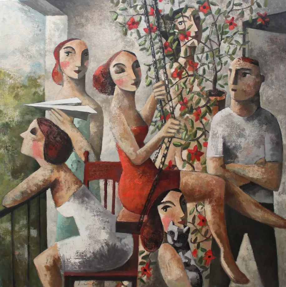 情感的表达,西班牙画家Didier Lourenço插图63