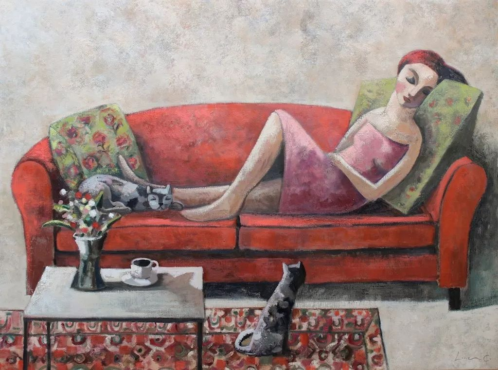 情感的表达,西班牙画家Didier Lourenço插图73