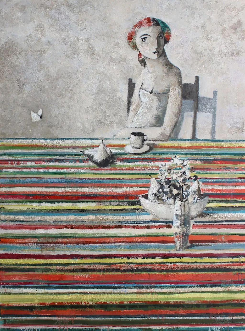 情感的表达,西班牙画家Didier Lourenço插图75