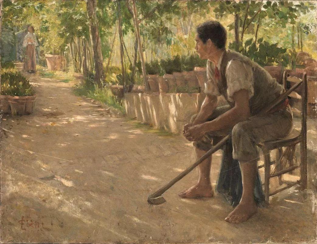 自信而粗犷的笔触,意大利画家Cesare Ciani插图2