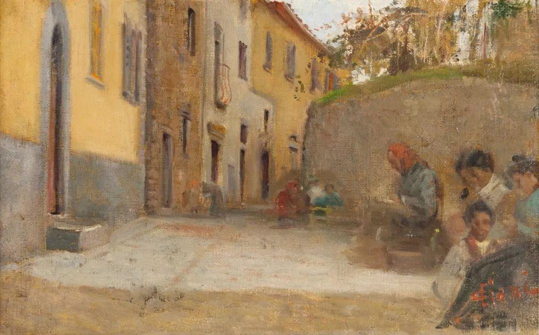 自信而粗犷的笔触,意大利画家Cesare Ciani插图19