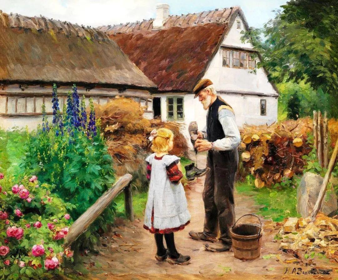 丹麦画家Hans Andersen Brendekilde作品集二插图