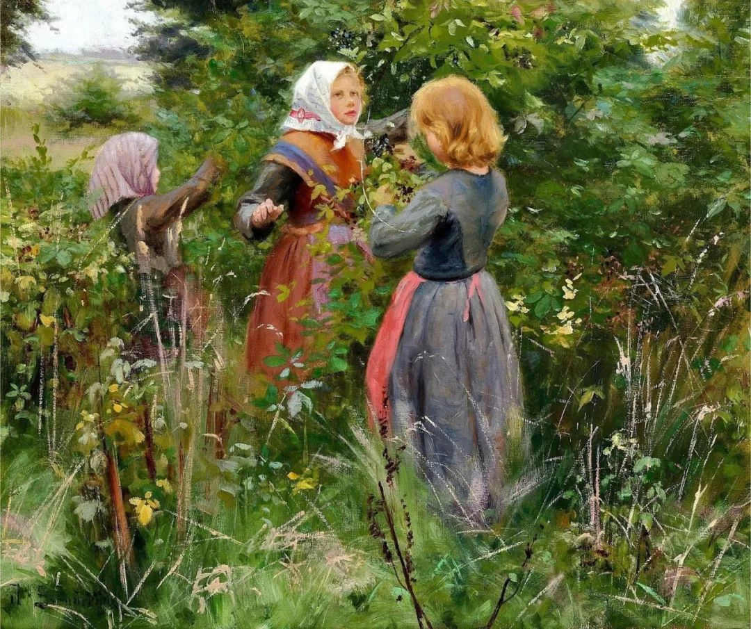 丹麦画家Hans Andersen Brendekilde作品集二插图1