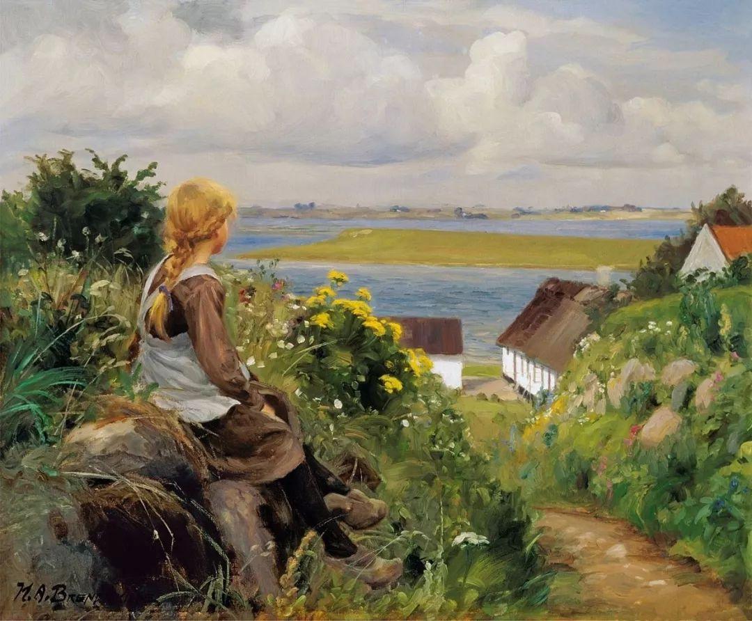 丹麦画家Hans Andersen Brendekilde作品集二插图2