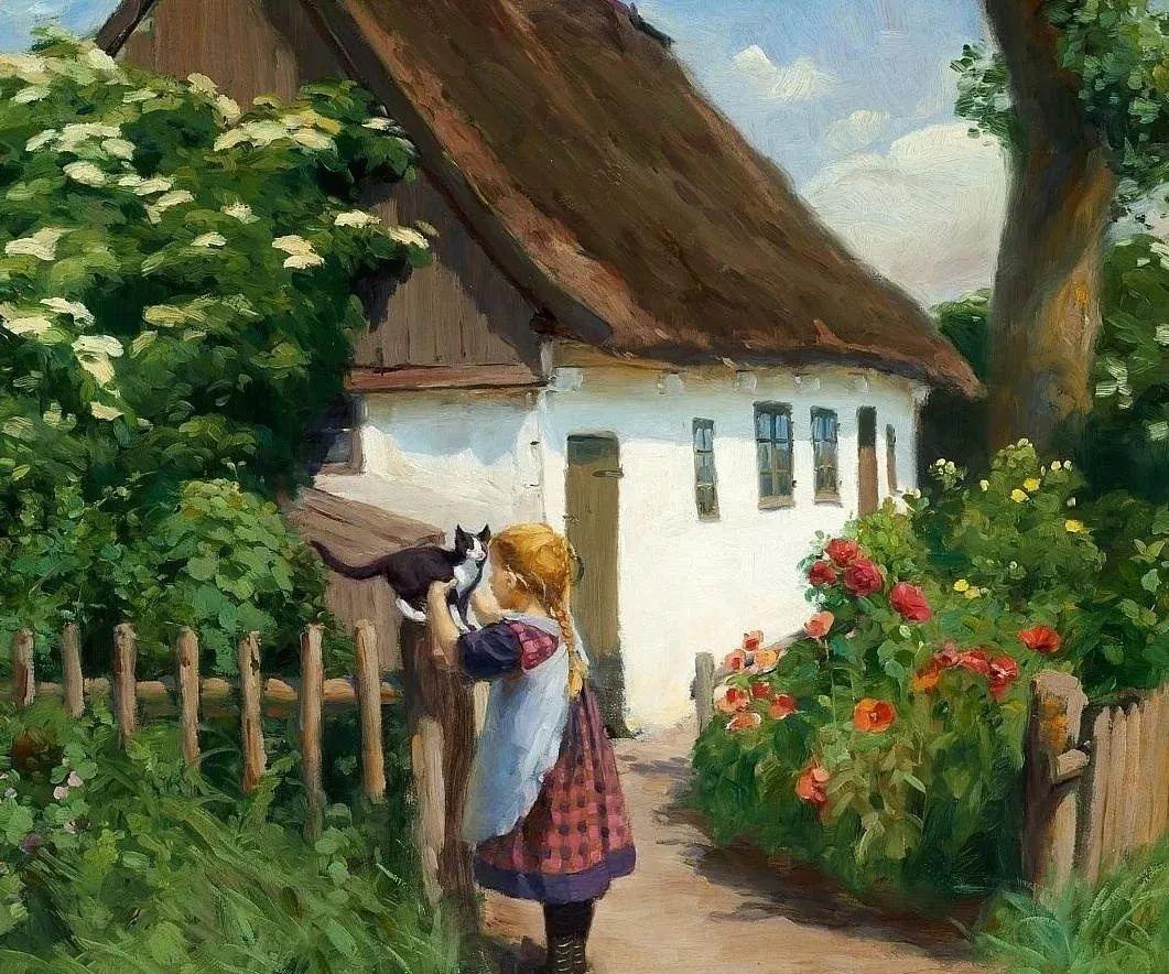 丹麦画家Hans Andersen Brendekilde作品集二插图4