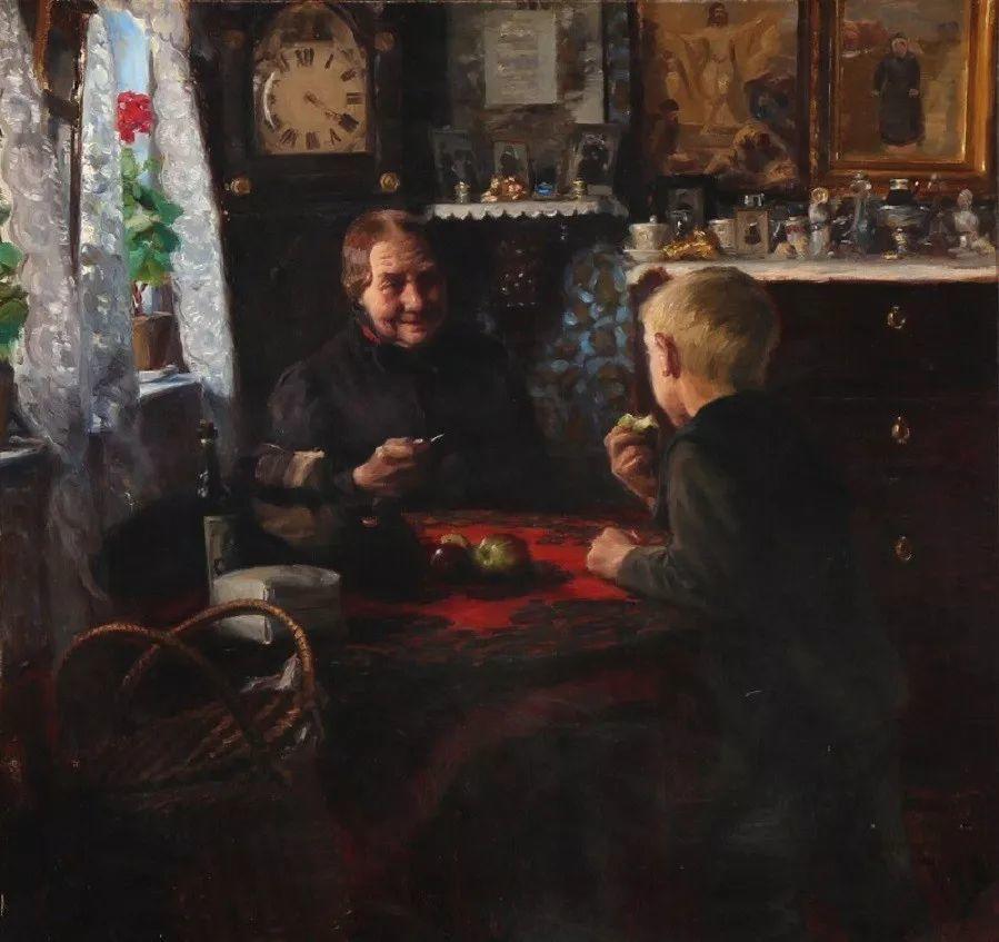 丹麦画家Hans Andersen Brendekilde作品集二插图5
