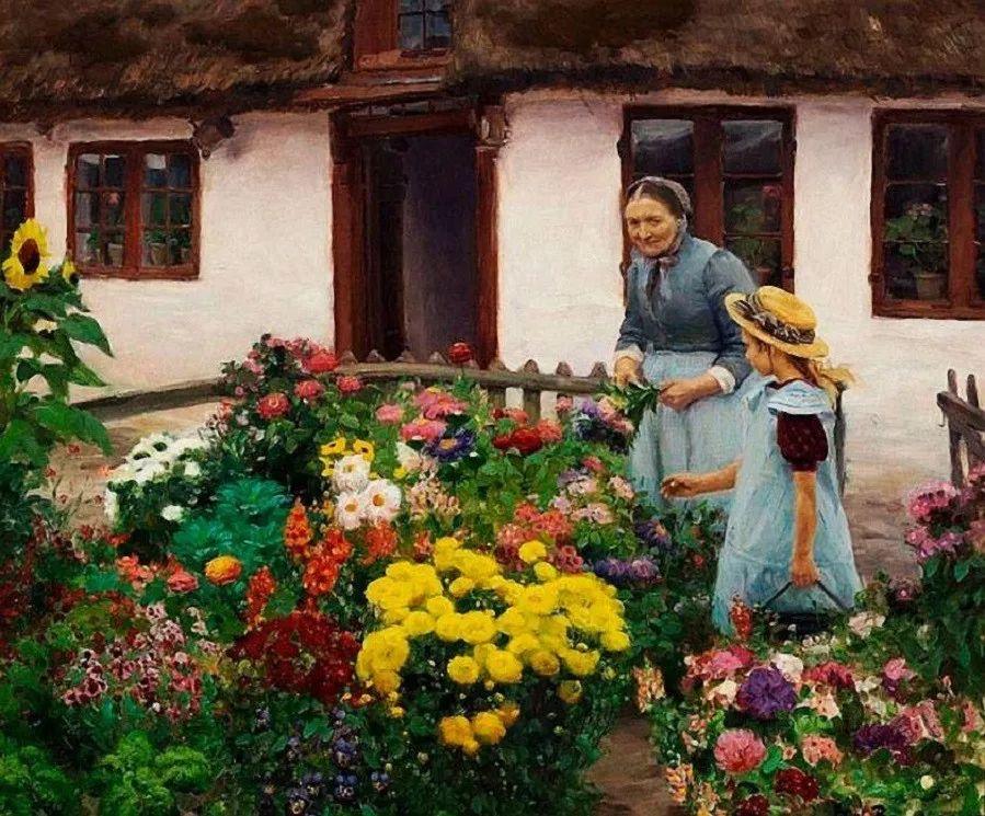 丹麦画家Hans Andersen Brendekilde作品集二插图7