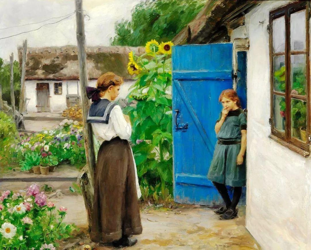 丹麦画家Hans Andersen Brendekilde作品集二插图8