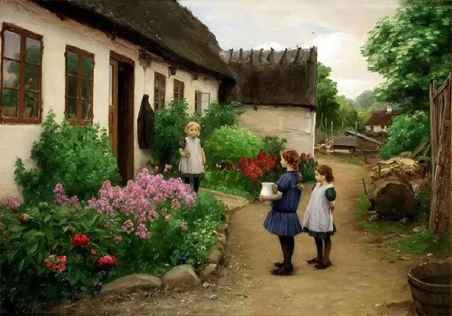 丹麦画家Hans Andersen Brendekilde作品集二插图9