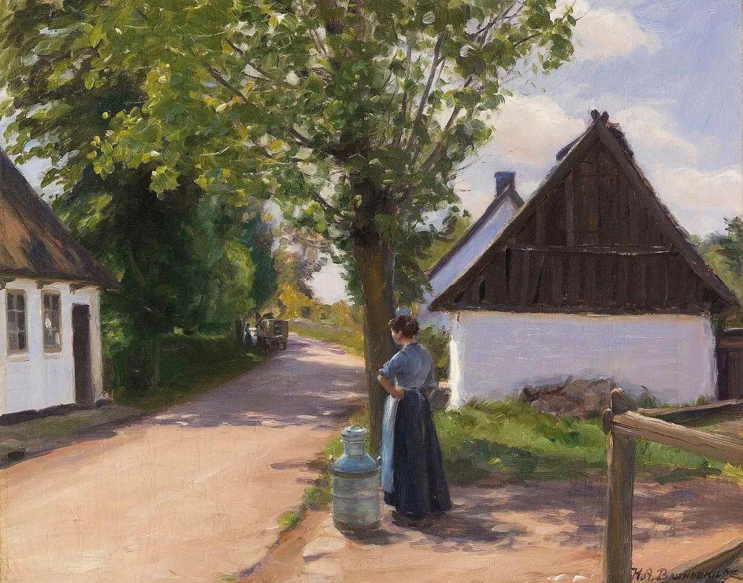 丹麦画家Hans Andersen Brendekilde作品集二插图10