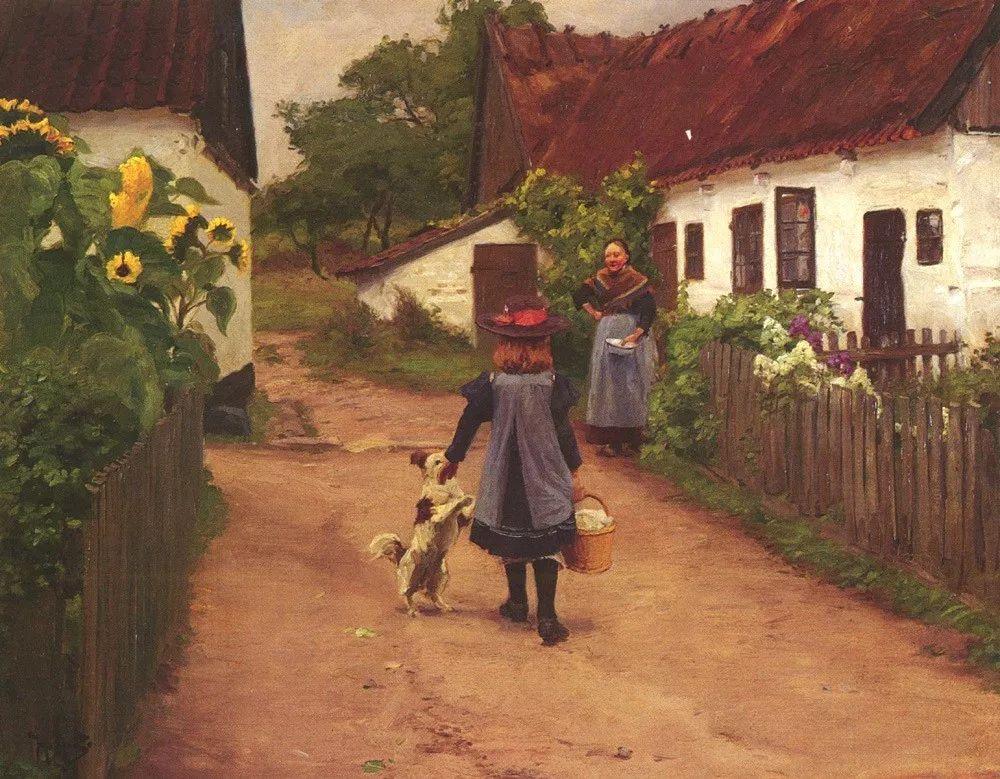 丹麦画家Hans Andersen Brendekilde作品集二插图11