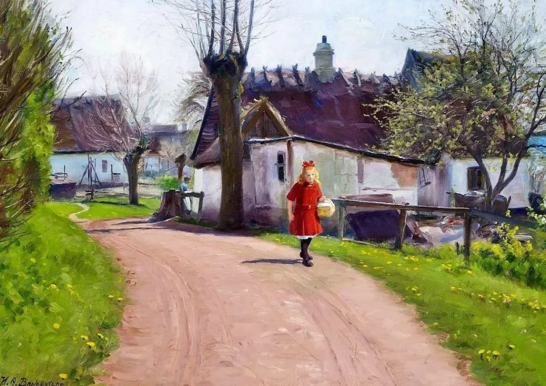 丹麦画家Hans Andersen Brendekilde作品集二插图12