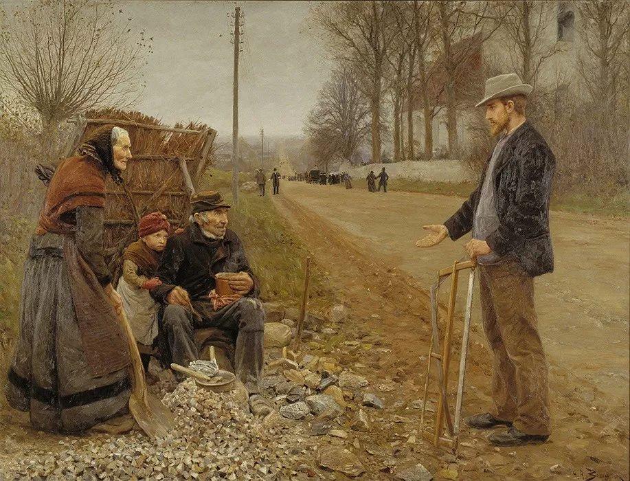 丹麦画家Hans Andersen Brendekilde作品集二插图14