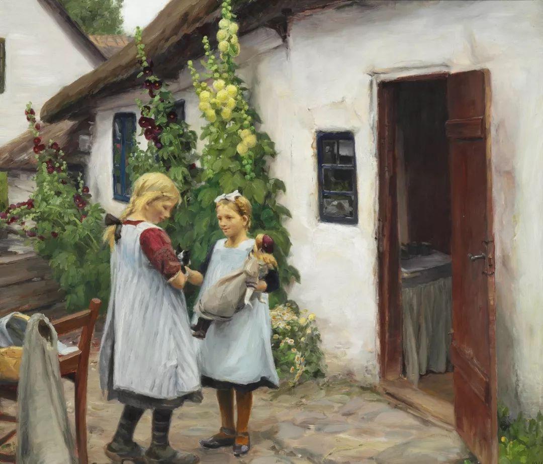 丹麦画家Hans Andersen Brendekilde作品集二插图20