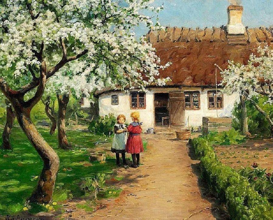 丹麦画家Hans Andersen Brendekilde作品集二插图21