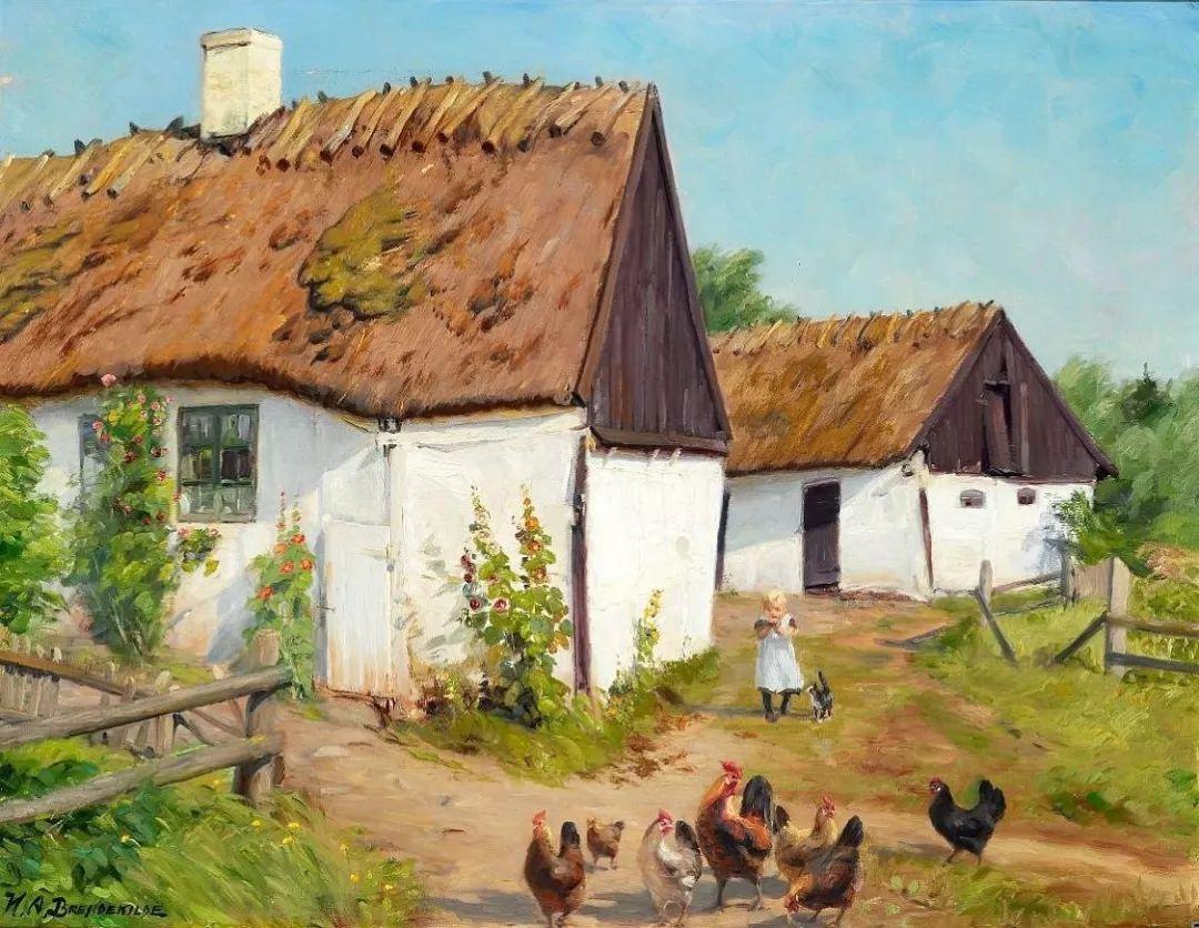 丹麦画家Hans Andersen Brendekilde作品集二插图22