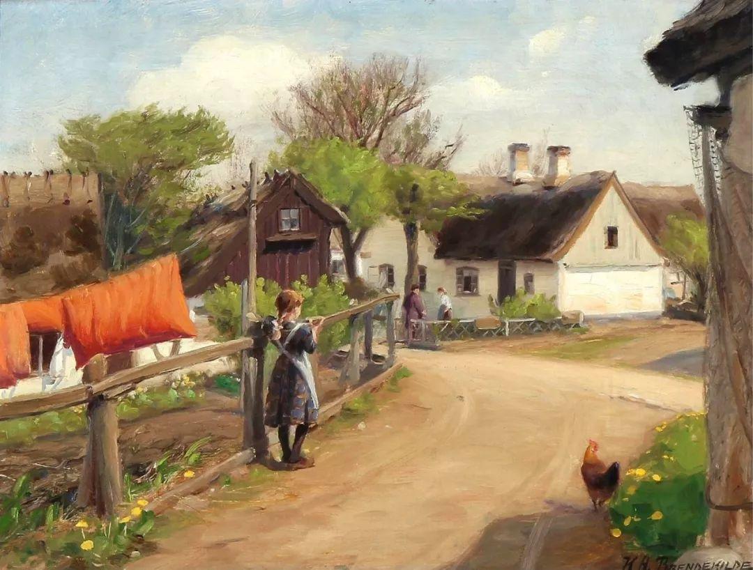 丹麦画家Hans Andersen Brendekilde作品集二插图24