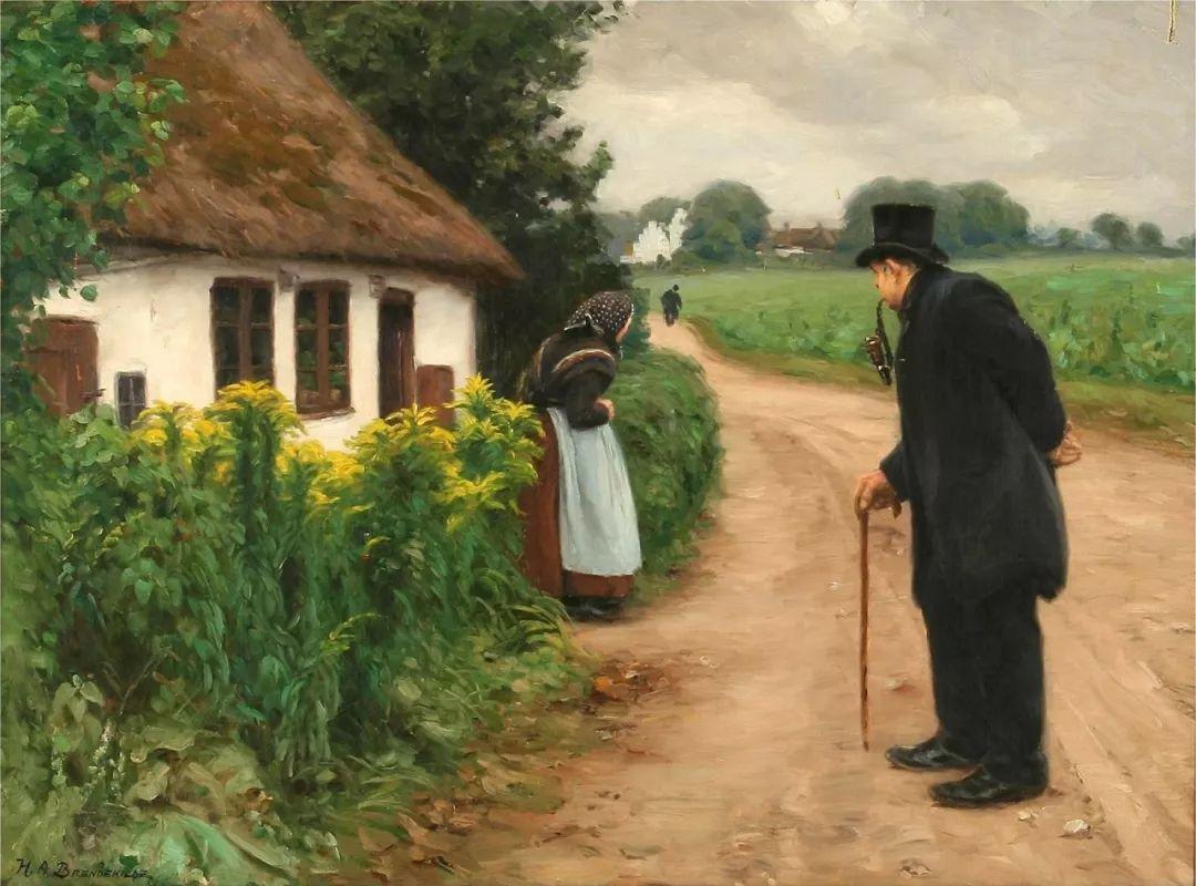丹麦画家Hans Andersen Brendekilde作品集二插图26