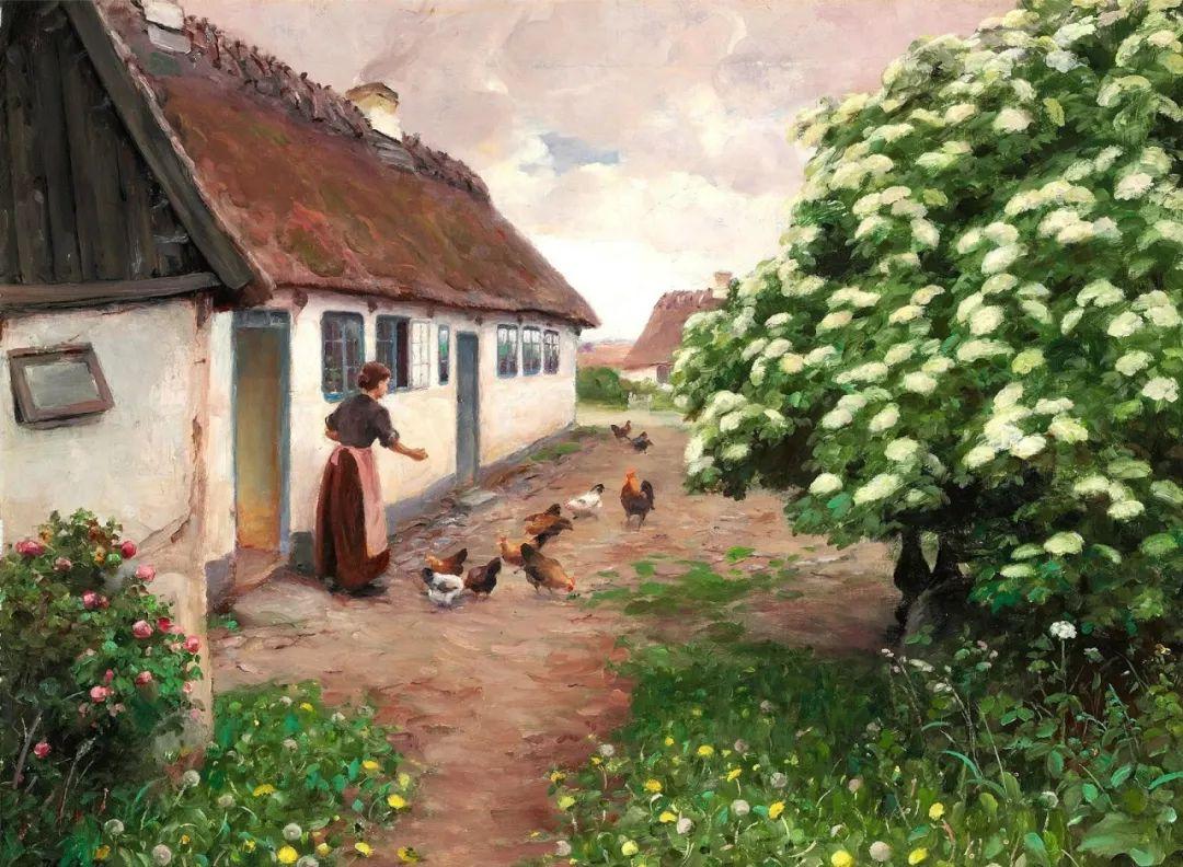 丹麦画家Hans Andersen Brendekilde作品集二插图27
